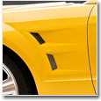 2005-2009 Mustang Front Fender Scoops