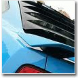 2010+ Mustang Rear Window Louvers**