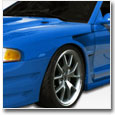 1994-1998 Mustang GT500 Wide Body Body Kit - 10 & 11 PC Kits