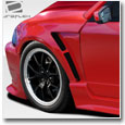 1999-2004 Mustang CBR500 Wide Body Body Kit - 8 Piece