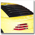 1994-1998 Mustang Rear Window Louvers