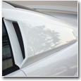 1999-2004 Mustang Quarter Window Louvers & Scoops