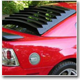 1999-2004 Mustang Rear Window Louvers