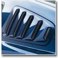 2010+ Mustang Quarter Window Louvers & Scoops