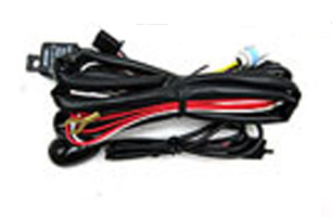 Universal Fog Light Wire kit with Plugs, Wiring, Relays & Switch 1987-2010+